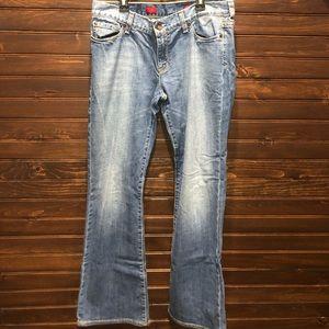 J.Crew Eva boot cut jeans. EUC.